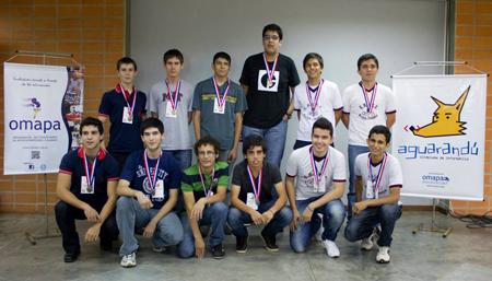 Ganadores Olimpiada Aguarandú 2013
