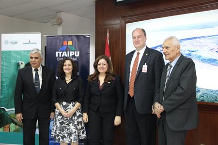 Firma de Convenio OMAPA - ITAIPU - MEC celebrado en junio de 2015.