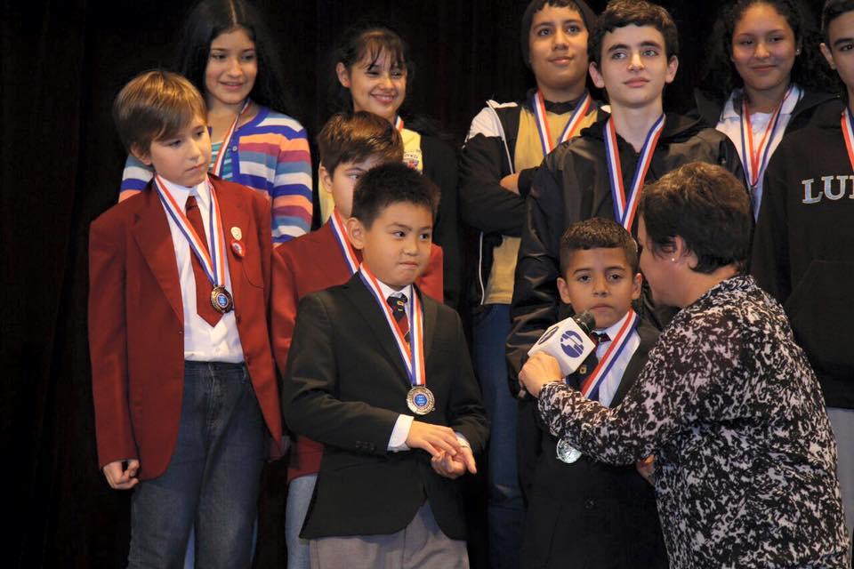Olimpiada Kanguro Paraguay - premiacion 2016