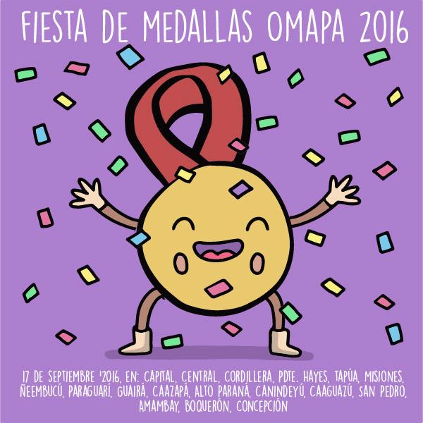 Fiesta de Medallas OMAPA 2016