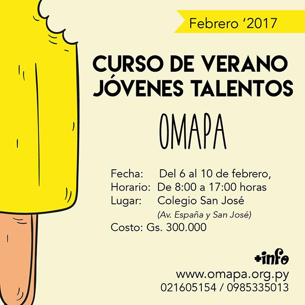 jt-curso-de-verano-FEB2017 OMAPA Jovenes Talentos d